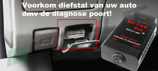 auto alarm met obd beveiliging