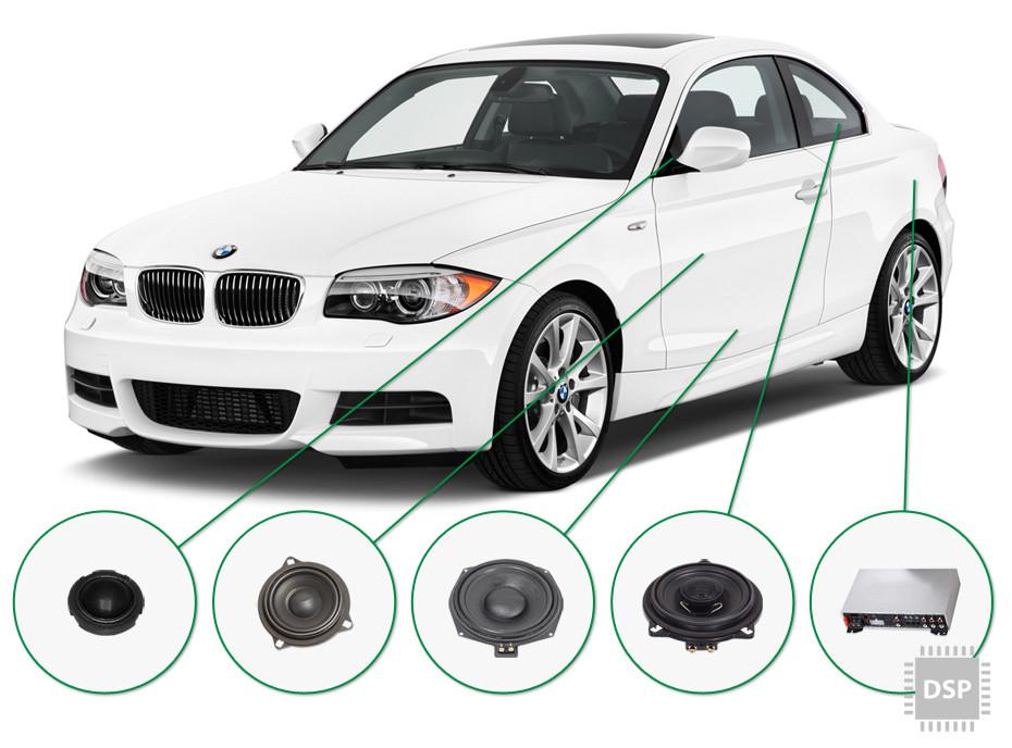 BMW 1 audio upgrade set 4