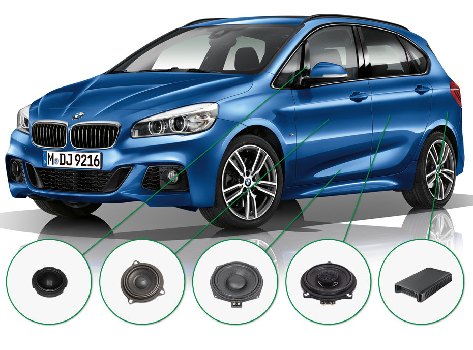 BMW 2 audio upgrade set 1