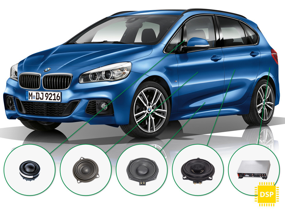 BMW 2 audio upgrade set 5