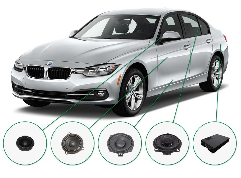BMW 3 audio upgrade set 2
