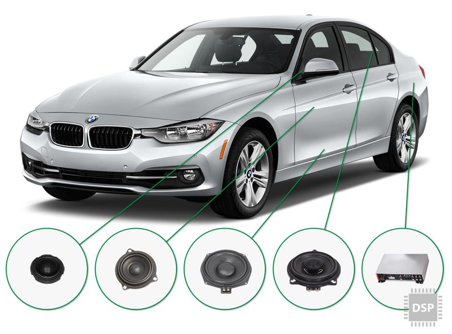BMW 3 audio upgrade set 4