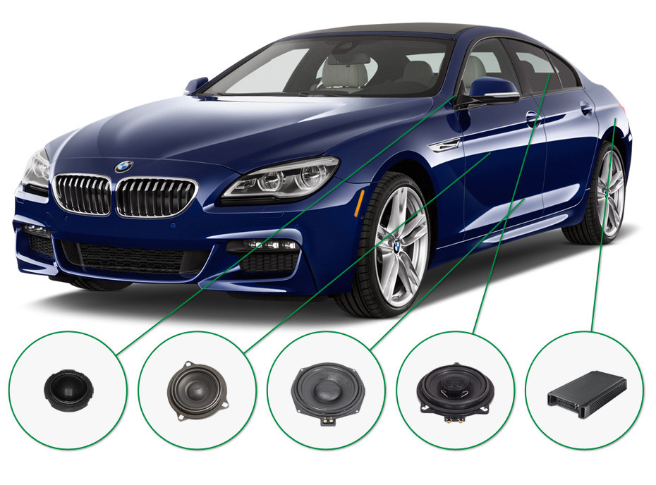 BMW 6 audio upgrade set 1