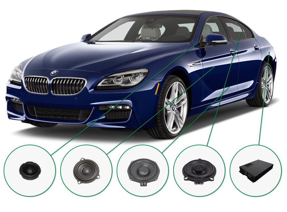 BMW 6 audio upgrade set 2