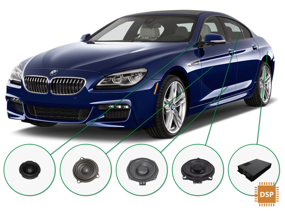 BMW 6 audio upgrade set 3