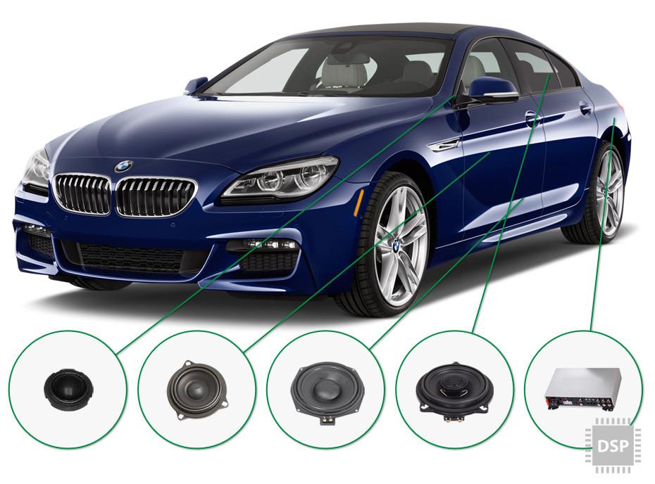 BMW 6 audio upgrade set 4