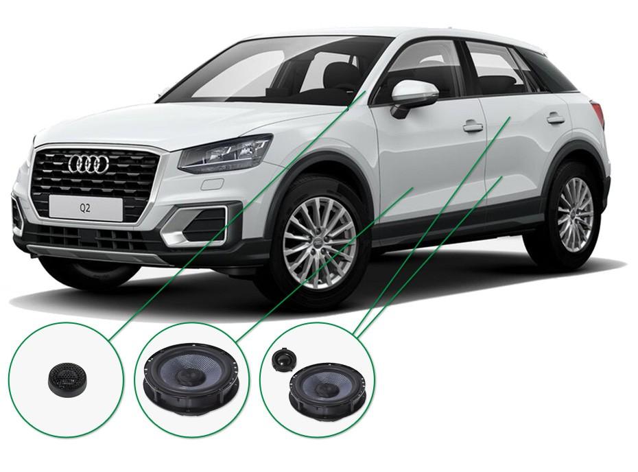 Audi Q2 Audio Upgrade Set 1