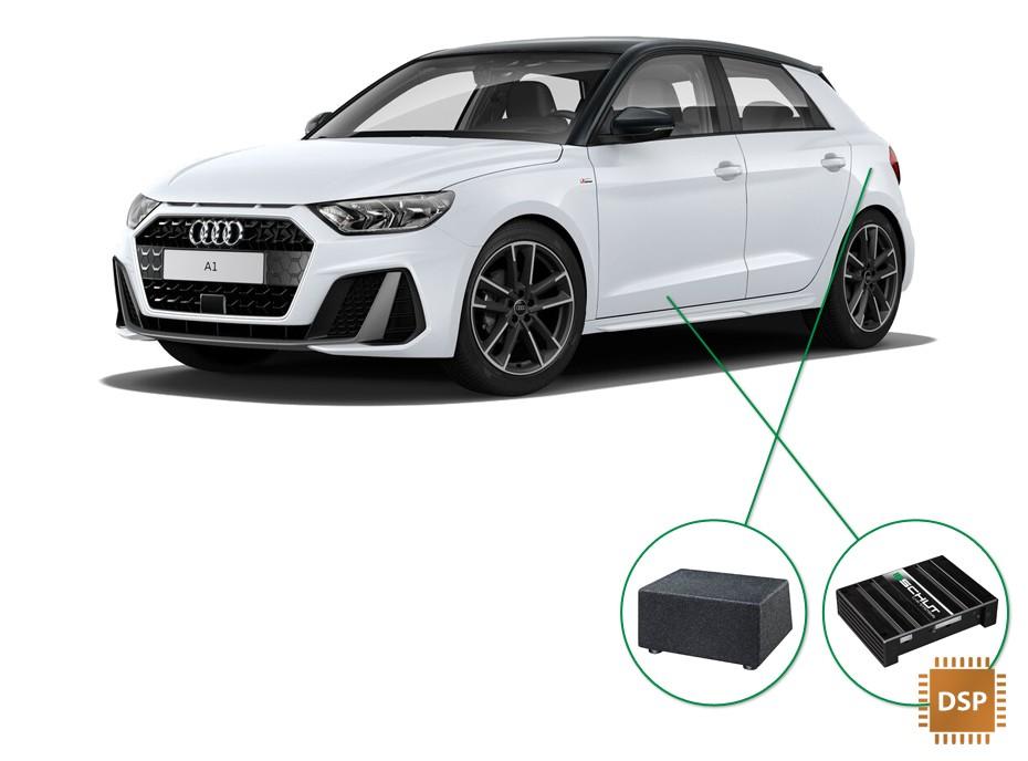 Audi A1 audio upgrade set 4
