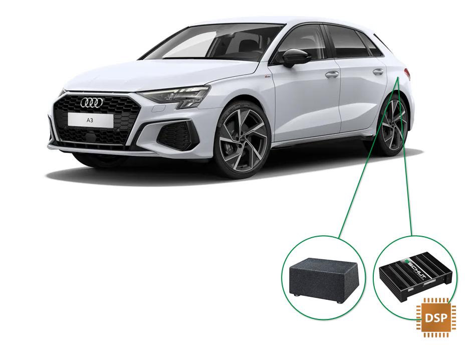 Audi A3 audio upgrade set 6