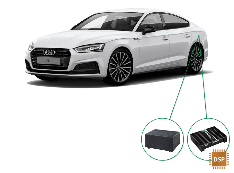 Audi A5 audio upgrade set 6