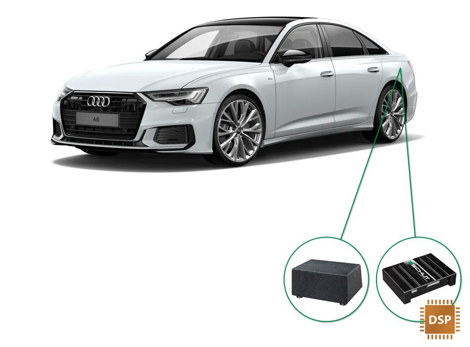 Audi A6 audio upgrade set 6