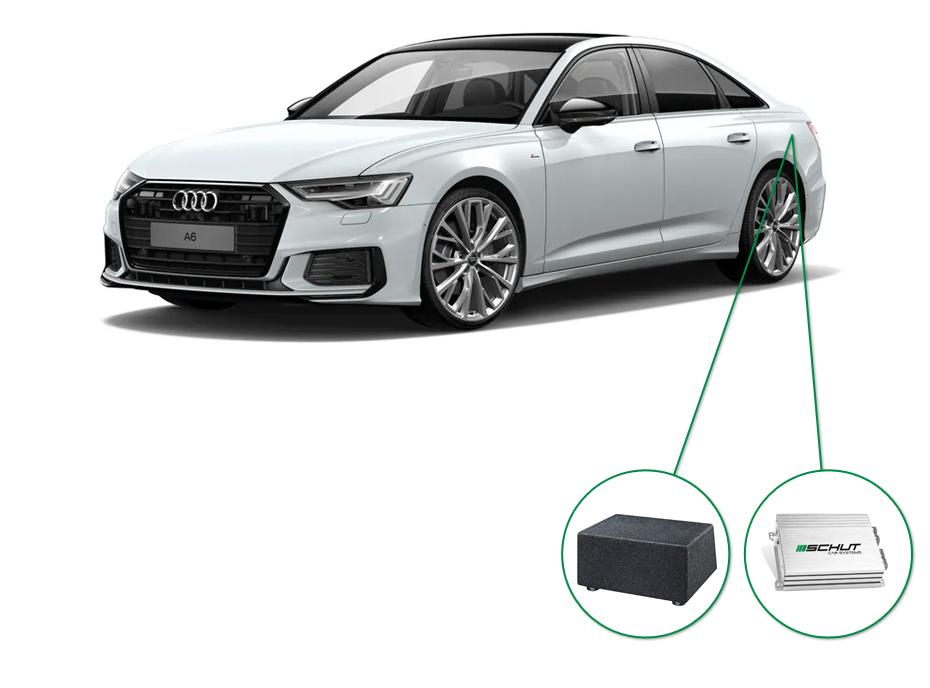 Audi A6 audio upgrade set 4