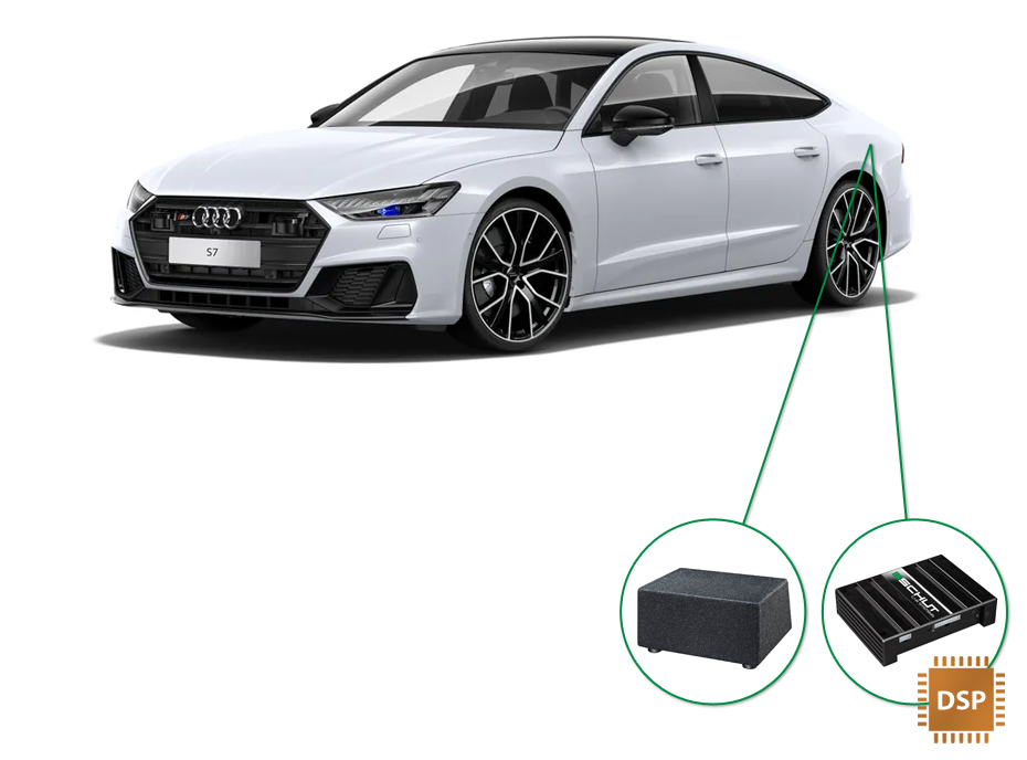 Audi A7 audio upgrade set 6