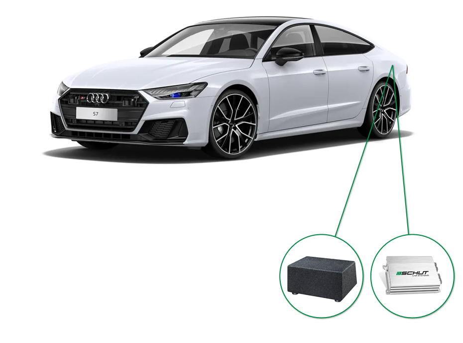 Audi A7 audio upgrade set 7