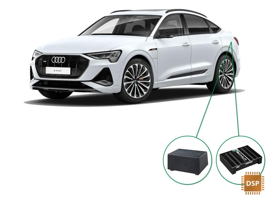 Audi e-tron 50/55 audio upgrade audio upgrade set 6
