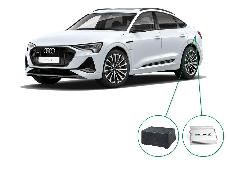 Audi e-tron 50/55 audio upgrade audio upgrade set 8