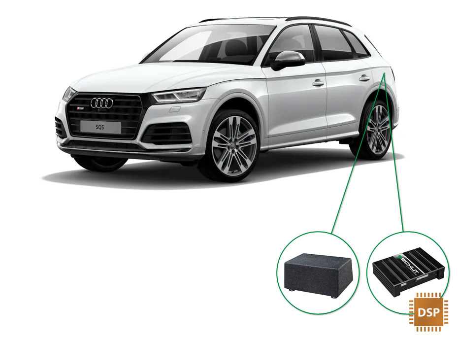 Audi Q5 audio upgrade set 6