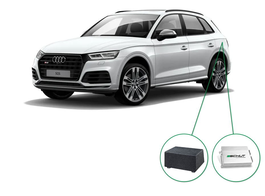 Audi Q5 audio upgrade set 8
