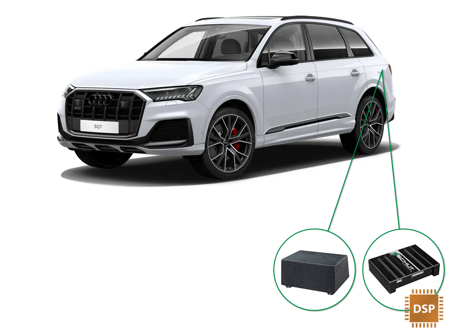 Audi Q7 audio upgrade set 6