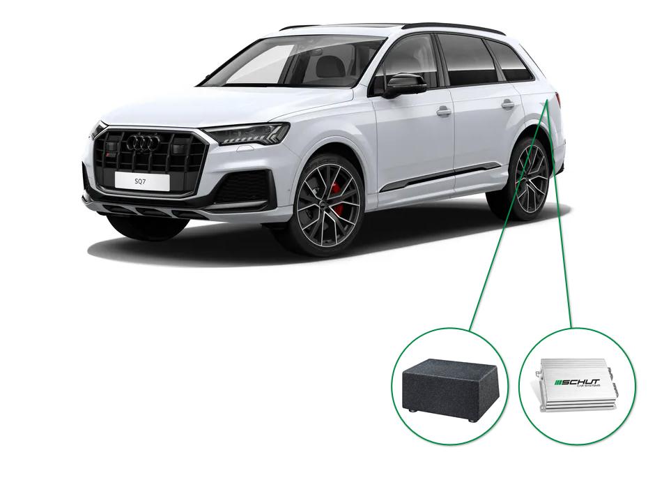 Audi Q7 audio upgrade set 8