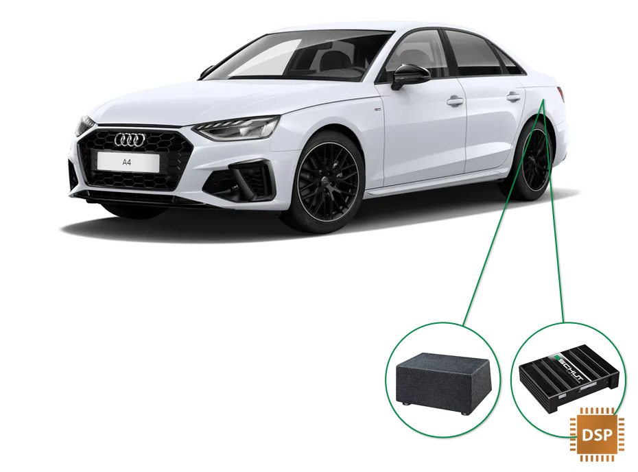 Audi A4 audio upgrade set 6