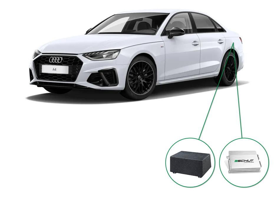 Audi A4 audio upgrade set 8