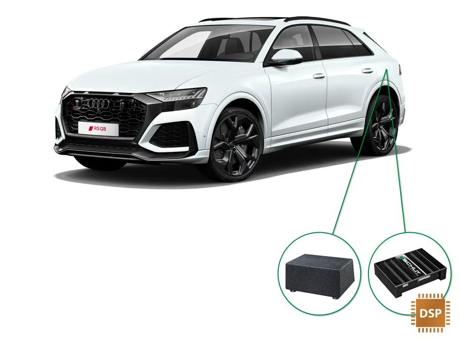 Audi Q8 audio upgrade set 6