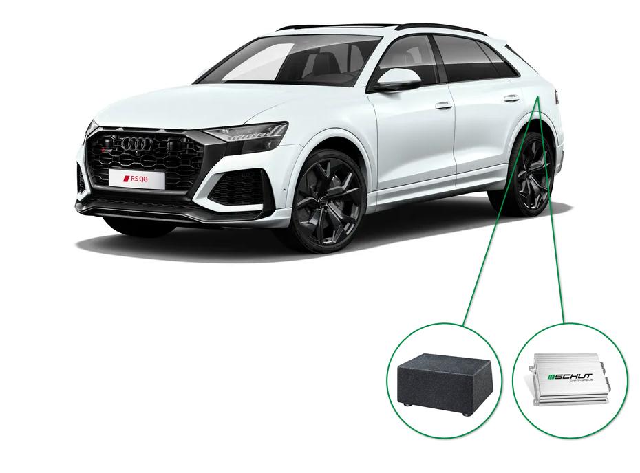 Audi Q8 audio upgrade set 8