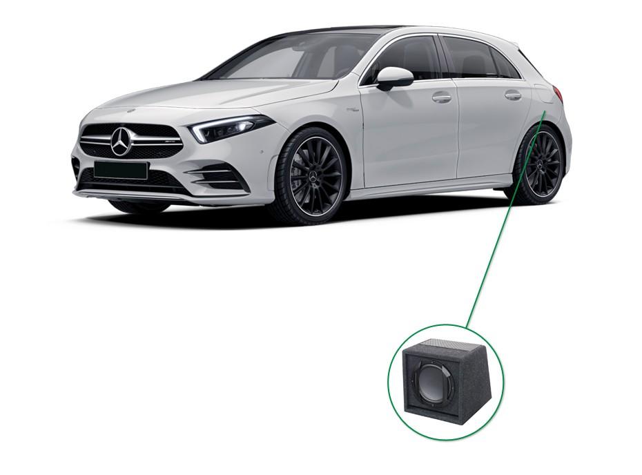 Mercedes A-Klasse audio upgrade set 6