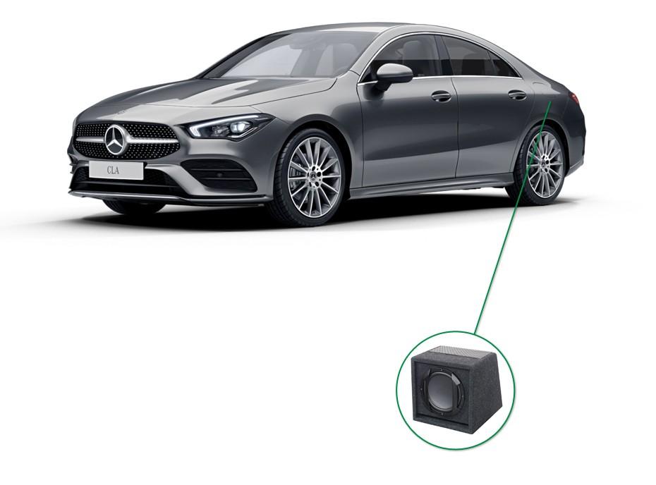 Mercedes CLA audio upgrade set 6