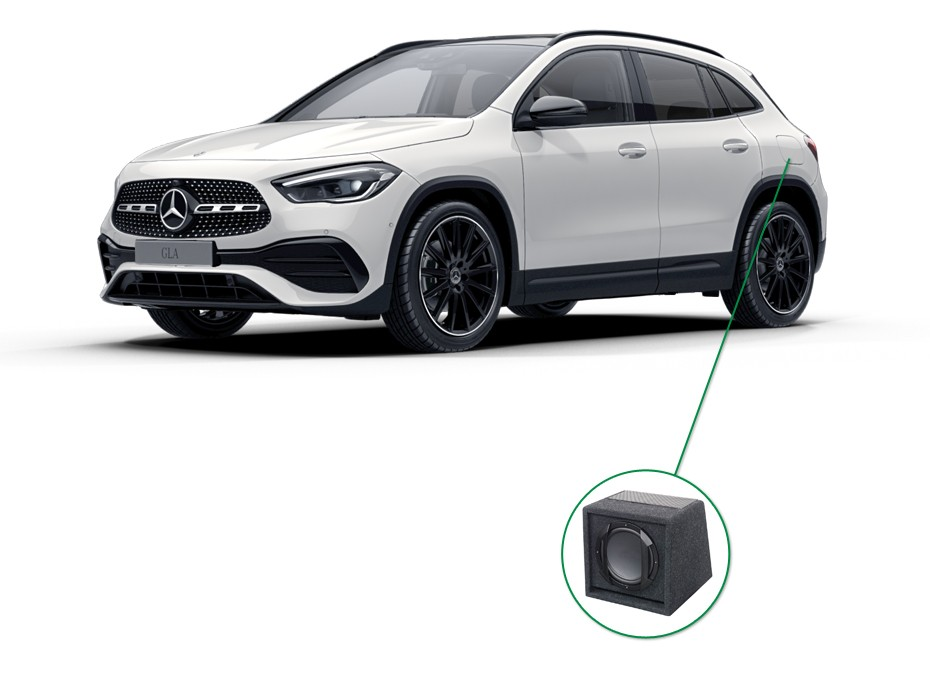 Mercedes GLA audio upgrade set 6