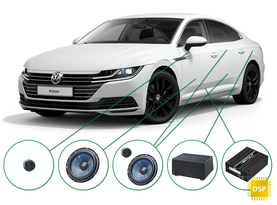VW Arteon audio upgrade set 2