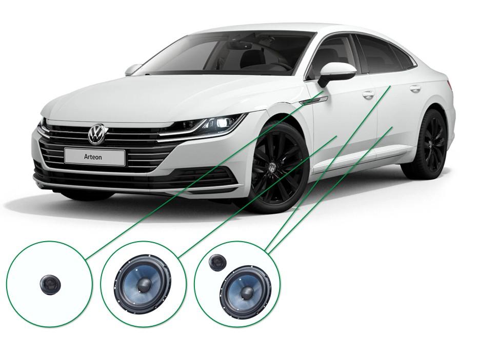 VW Arteon audio upgrade set 5
