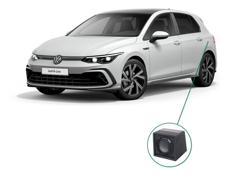 VW Golf  audio upgrade set 6
