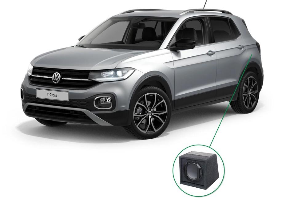 VW T-Cross audio upgrade set 6