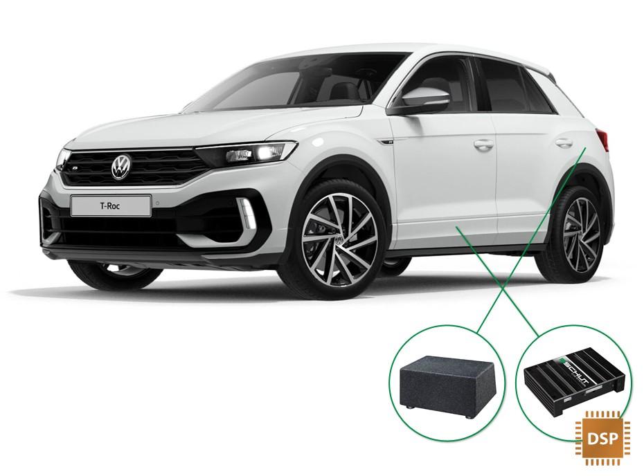VW T-Roc audio upgrade set 4
