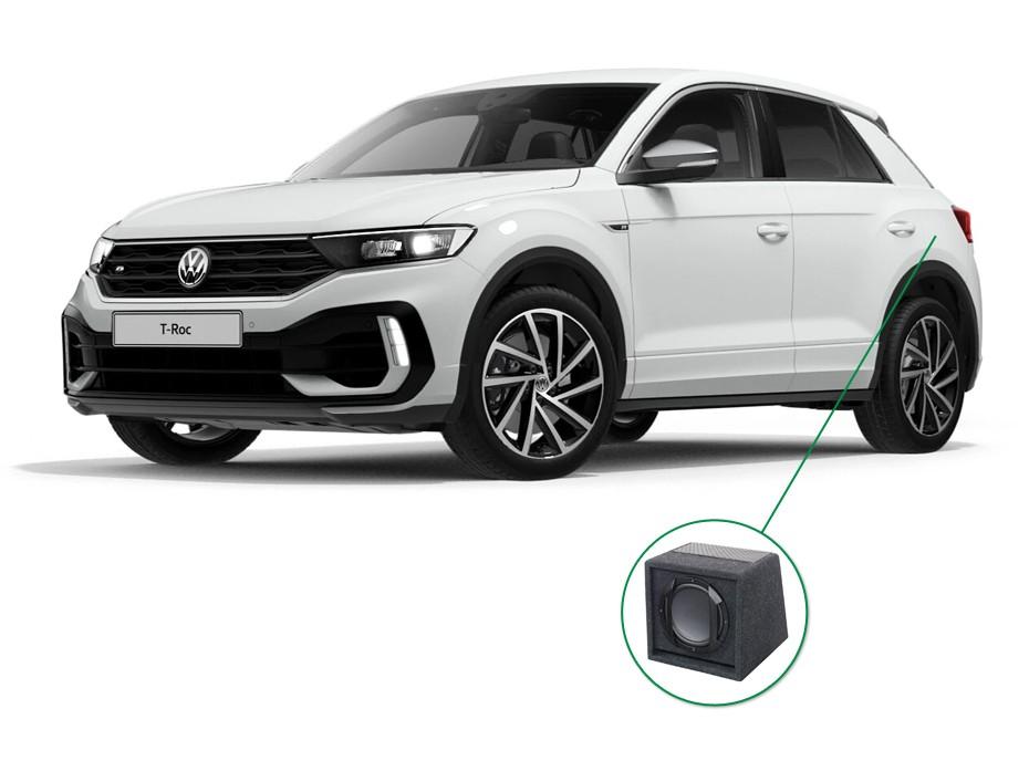VW T-Roc audio upgrade set 6