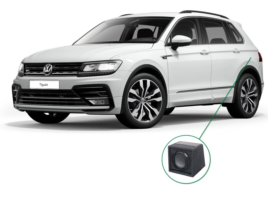 VW Tiguan audio upgrade set 6
