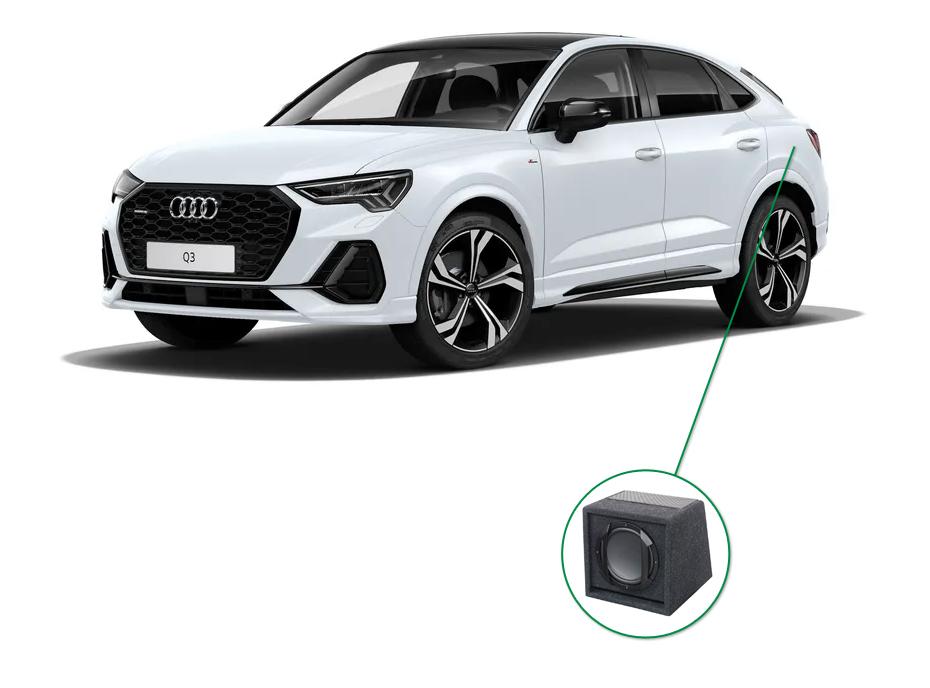 Audi Q3 audio upgrade set 7