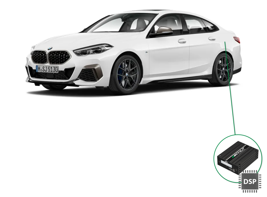 BMW 2 audio upgrade set 4