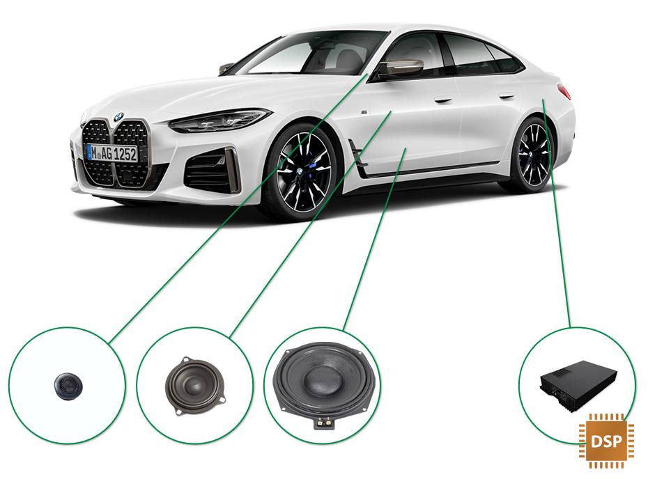 BMW 4 audio upgrade set 3