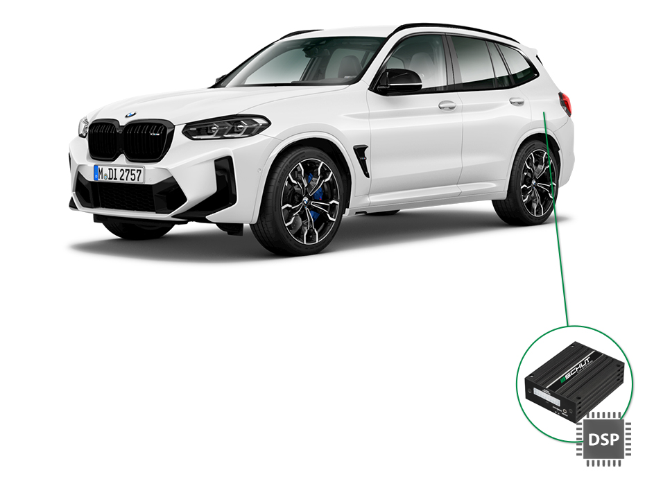 BMW X3 audio upgrade set 4