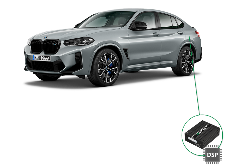 BMW X4 audio upgrade set 4