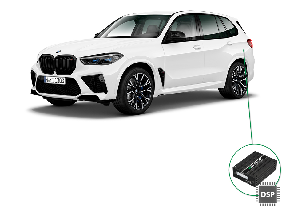 BMW X5 audio upgrade set 4