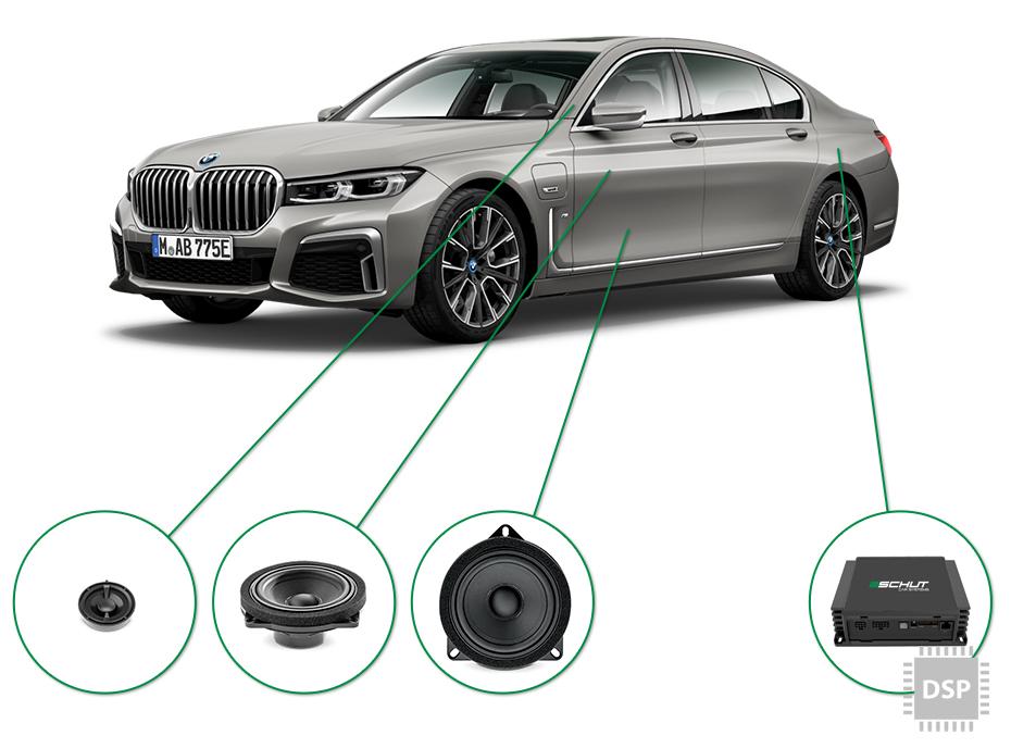 BMW 7 audio upgrade set 2