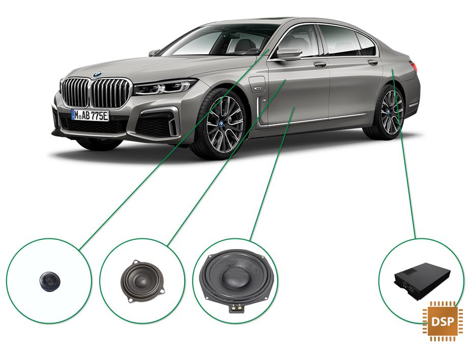 BMW 7 audio upgrade set 3