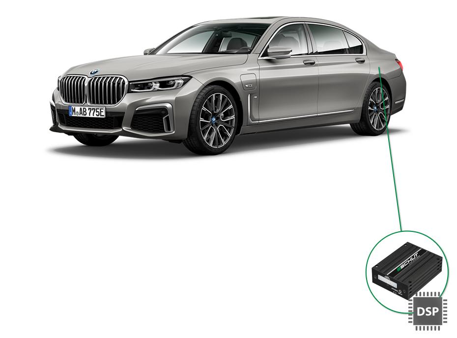 BMW 7 audio upgrade set 4