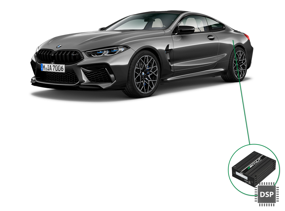 BMW 8 audio upgrade set 4