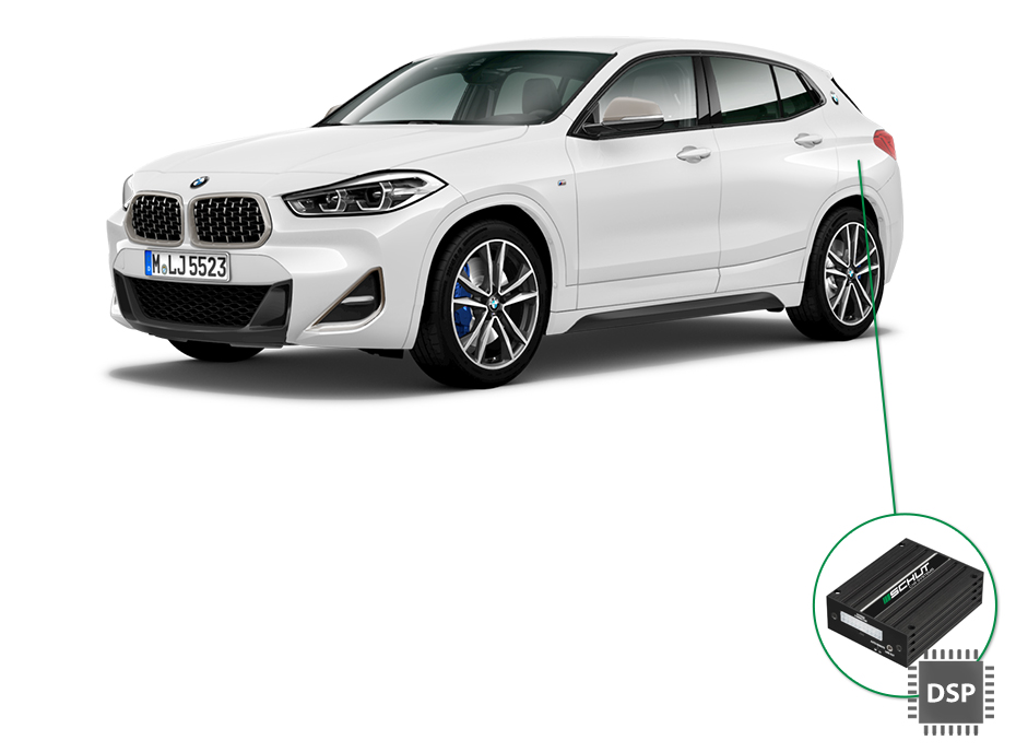 BMW X2 audio upgrade set 4