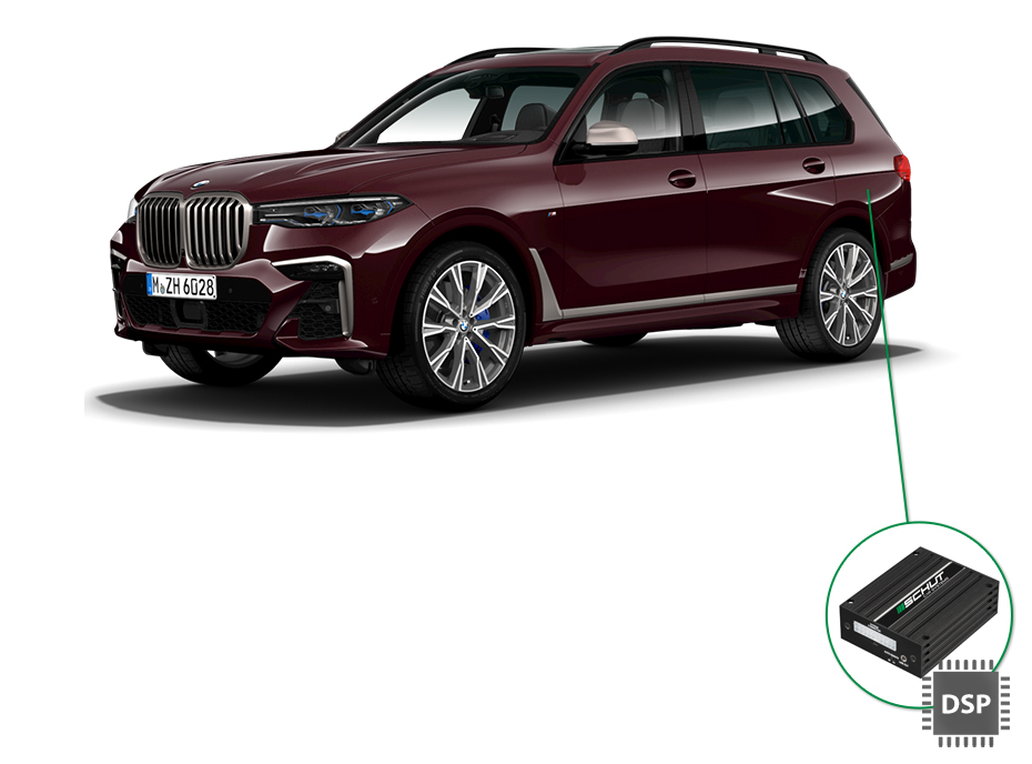BMW X7 audio upgrade set 4